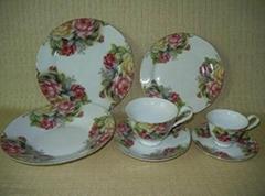 20 pcs porcelain round shape dinnerware set