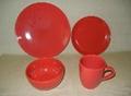 20 pcs porcelain round shape color
