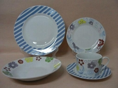 20 pcs porcelain round shape dinnerware set