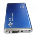 High capacity 4600mAh portable powerbank