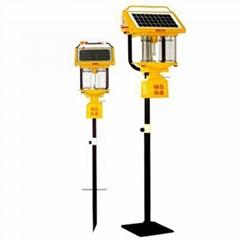 Solar Pest Spectrum Lamp Green Agriculture Solar Lamp