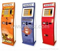 Retail / Ordering / Payment Self service Waterproof Lobby Kiosk