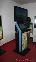 Touch Screen LCD advertising Display Free Standing Kiosk