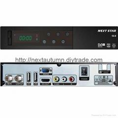 hd fta G2 satellite receivers hdmi factory in shenzhen