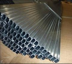 Insulating glazing aluminum spacer