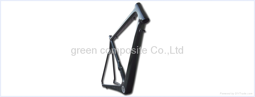 carbon bicycle frame 2