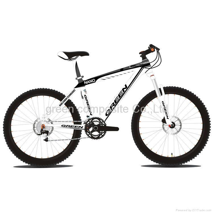 carbon mountain bike frmae 1