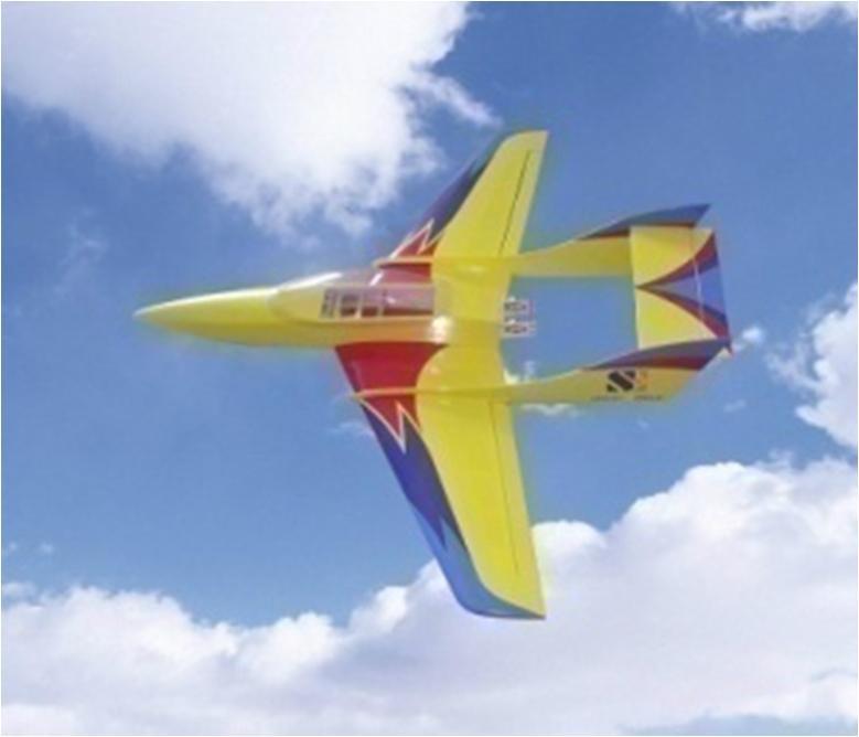Gas R/C airplane model 1