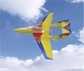Gas R/C airplane model