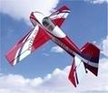 R/C airplane model