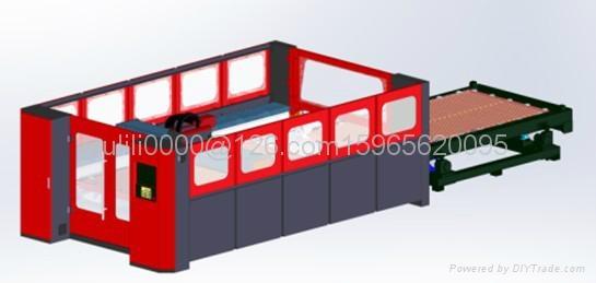 自動換料光纖激光切割機FC3015B02I-1000W 2