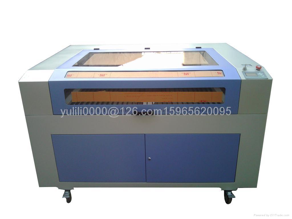 异形海绵激光切割机  1