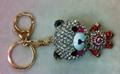 镶钻-小熊-钥匙扣