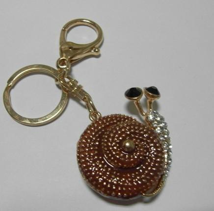 镶钻可爱-蜗牛-钥匙扣 1