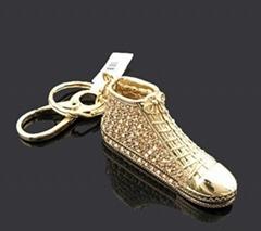 镶彩钻钥匙扣-鞋子挂饰