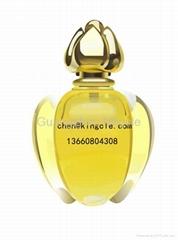 Women glass perfume bottle,ladys perfume bottle
