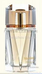Man perfume bottle,Gentleman glass perfume bottle