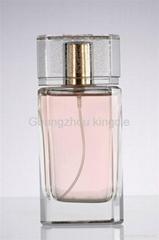 75ml glass perfume bottle for man
