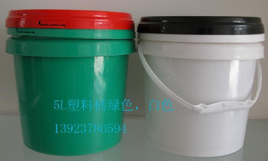 深圳榮德塑料桶5L廣口桶 1