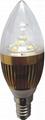 led bulbs candle light 1