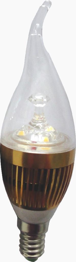led bulbs candle light 2