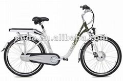"26"" Inner 3 speed aluminium electric bicycles bikes Ebikes china/TDF26S005"