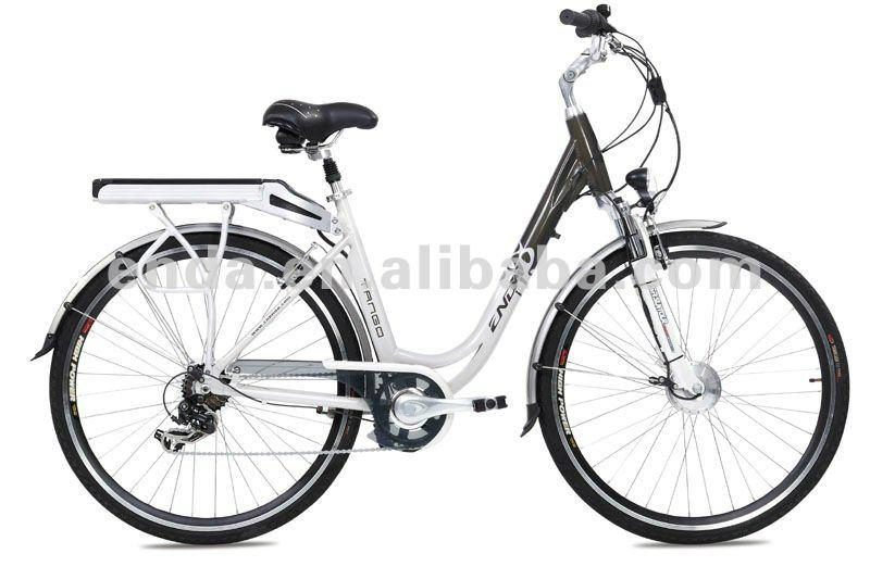 "7 speed 250W Li-ion battery 28"" aluminium electric bicycles bikes ebikes 1"