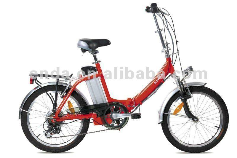 "20"" 250W Aluminium folding electric bikes bicycles Ebikes in china/TDN20Z001 1"