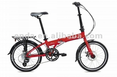"20"" 16 speed Aluminium folding bikes bicycles in china/KA063"