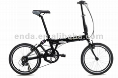 "20"" 7 speed Aluminium folding bikes bicycles in china with suspenson frame/FA072"