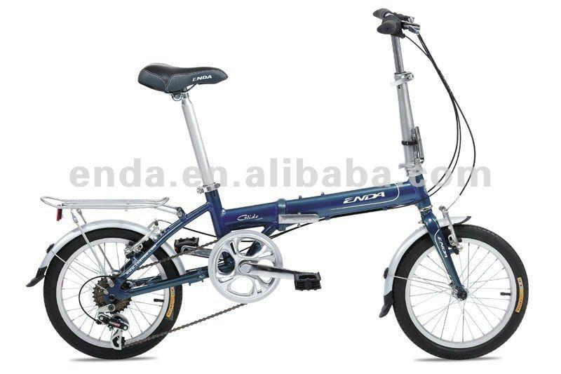 "6 speed 16"" aluminium folding bikes bicycles in china/KA661 1"