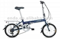 "6 speed 16"" aluminium folding bikes"