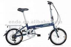"6 speed 16"" aluminium folding bikes bicycles in china/KA661"