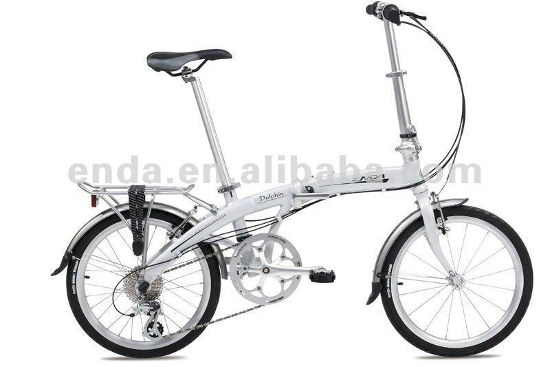 """Inner 3speed 20"""" aluminium folding bike/PA043 1"""