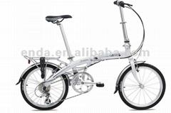 """Inner 3speed 20"""" aluminium folding bike/PA043"""