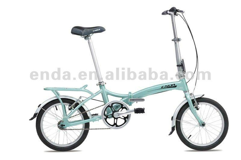 "Single speed 16""aluminium folding bikes bicycles/RA611 1"