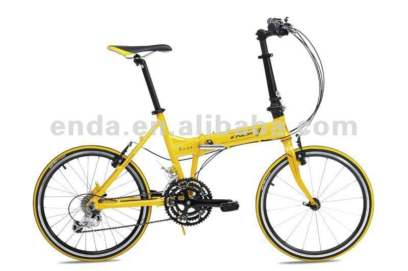 "Lightweight 20"" Mini velo aluminium folding bikes biycles/HA074 1"