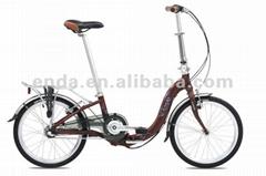"Inner 3speed 20"" light aluminium folding bikes bicycles in china/SA033"