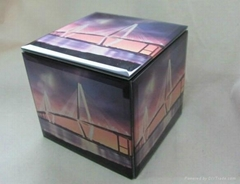 New fashion glass jewelry box