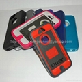 Otterbox Defender case for iphone 5,TPU outside cover w/belt clip&retail package