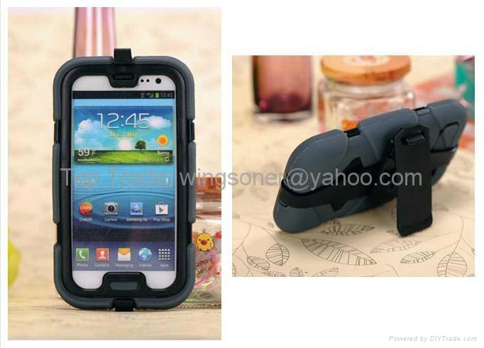 Grffin Survivor 2nd gen tough armored case for Samsung Galaxy s3 i9300 3