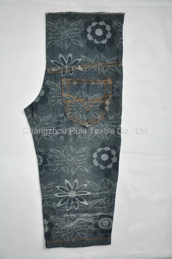 jacquard denim fabric 3