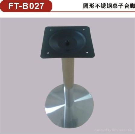 供應方形不鏽鋼桌腳 不鏽鋼餐桌底座/餐台台腳 2