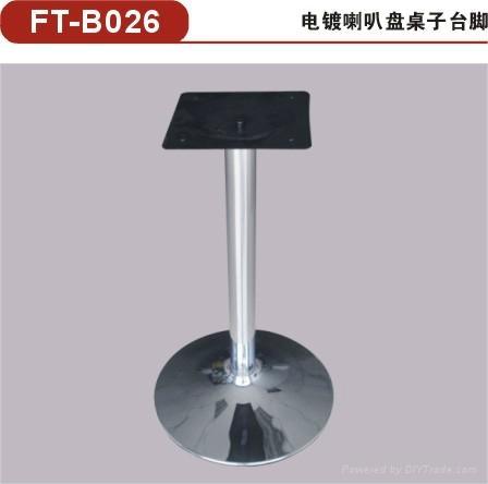 供應方形不鏽鋼桌腳 不鏽鋼餐桌底座/餐台台腳 3