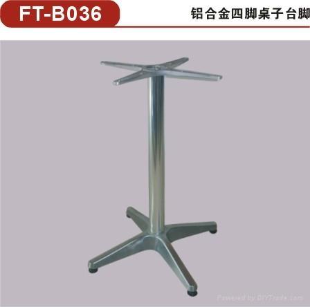 供應方形不鏽鋼桌腳 不鏽鋼餐桌底座/餐台台腳 4