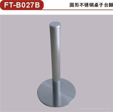 供應方形不鏽鋼桌腳 不鏽鋼餐桌底座/餐台台腳 5