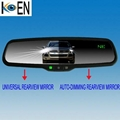 Compass Car Auto Dimming Rearview Mirrors KAD002 1