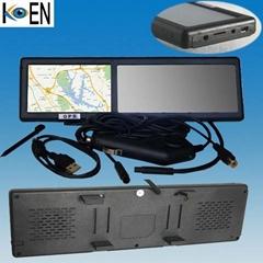 4.3 inch monitor clip-on car GPS rear view mirror KC0643