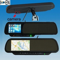 Rearview Mirrors Car GPS with DVR KS0943