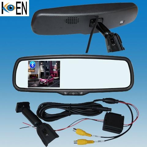 OEM Replacement Bluetooth Rearview Mirrors Handsfree Car Kit 1